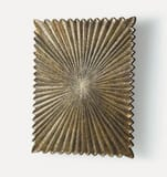Arteriors Home 32 in. Small Metal and Wood Wall Plaque ART6582