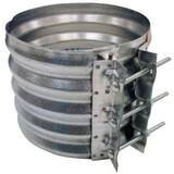 Contech Construction 12 in. Alloy Steel Band with Gasket CMPBAND12