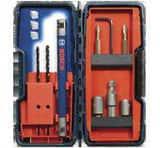 Robert Bosch Tool Brute Tough™ 5/16 in, 1/4 in, 3/16 in, 5/32 in. x 5/32 x 1/4 in. 3-Flat Masonry 9 Piece BTC900
