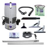 Pro Team GoFree® Flex Pro 10-1/8 x 24 in. 6 qt Cordless Backpack Vacuum P107541