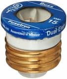 Service First 15A Dual-Element Time Delay Plug Fuse SFUS00113