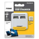 Prime Wire and Cable 3.4A USB Charger with Folding Plug PPBUSB340