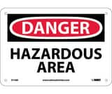 National Marker Company 5 in. Plastic Gas Vent Warning Sign NCU165909