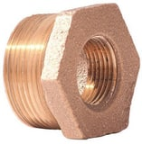 Merit Brass 3/4 x 1/8 in. Reducing Brass Bushing IBRLFBFA