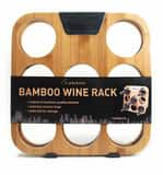Taylor Precision Products Wood Rabbit Bamboo Wine Rack TW8510