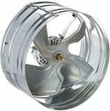 QC Manufacturing 2830 cfm Smart Attic Fan QAFGSMT30