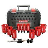 Diablo Tools Freud® Hole Saw Kit 14 Piece DDHS14SGP