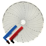 Graphic Controls LLC 11-1/8 in. 0-40 Chart Paper FFX898491 at Pollardwater