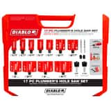 Diablo Tools Hole Saw Kit 17 Piece DDHS17SPL