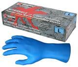 MCR Safety Nitri-Shield™ L Size Disposable Powder Free Nitrile Gloves in Blue (50 per Box) M6018L at Pollardwater