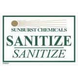 Sunburst Chemicals Sanitize Sink Sticker S9180227