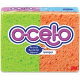 Sp Richards Ocelo™ 4-7/10 x 3 x 3/5 in. Stay fresh Cellulose Sponge in Assorted SMMM7274T