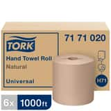 Tork Tork® 7-1/2 in. x 1000 ft. Universal Hand Towel Roll in Natural (Case of 6) T7171020