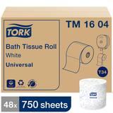 Tork 20 x 15-1/10 in. 2-ply Bath Tissue in White (Case of 36) TTM1604