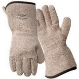 Wells-Lamont Jomac® XL Size Cotton and Terrycloth Gloves in Brown and White WEL636HRL