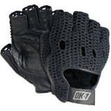 Occunomix L Size Leather and Cotton Gloves in Black OOKNWGSL