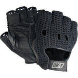 Occunomix S Size Leather and Cotton Gloves in Black OOKNWGS