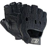 Occunomix Leather and Cotton Gloves in Black HP34560