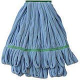 Nuance Solutions 10 x 17 in. Microfiber Tube Mop in Blue NNFSMBLEA