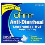 Mckesson Medical Surgical 3 in. 2 mg Loperamide Anti-diarrheal Caplet M549418