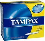 Procter & Gamble Company Regular Tampon (Box of 40) M91998