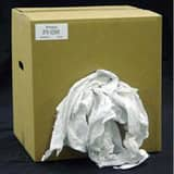 Mednik Riverbend 50 lb. Box New Knit Rag in White R3110MEWA