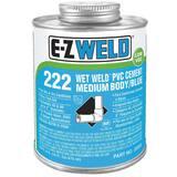 E-Z Weld Wet Weld® 16 oz Plastic Blue Pipe Cement EZ22203