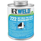 E-Z Weld Wet Weld® 16 oz Plastic Blue Pipe Cement EZ22203