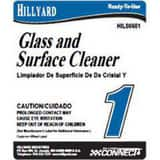 Hillyard Floor Products Product Label for Connect #1 Glass and Surface Cleaner H32601