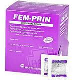 Hart Health Fem-Prin Menstrual Pain Reliever Tablet (Pack of 2, Box of 125 Packs, Case of 10 Boxes) H5644