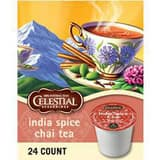 Celestial Seasonings® India Spice Chai Tea K-Cup for Coffee System K5000203070