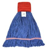Golden Star Mops Comet™ 5 in. Polyester, Cotton and Rayon Large Blend Wet Mop in Blue GAST34BL5