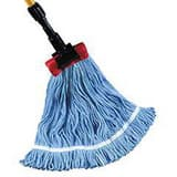 Golden Star Mops Starline™ 1-1/4 in. Cotton and Rayon Blend Wet Mop in Blue GASB1LB