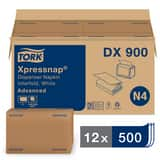 Tork® Xpressnap® 8-1/2 x 13 in. Interfold Napkin in White TDX900