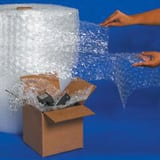 Box Partners 12 x 1/2 in. Bubble Wrap Slit BBWUP12S12P