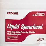 Ecolab Liquid SpearHead® 30 gal Heavy Duty Liquid Dishwashing Detergent ECO6118077