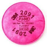 3M Particulate Filter for Cartridges 6000 Series Reusable Respirators 3MI05113107000