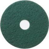 3M 20 in. Scrubbing Pad 5400N in Green 3MI48011350301