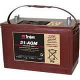 Trojan Battery EV Series 114AH 12V Battery T31AGM
