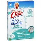Mr. Clean Magic Eraser 4-1/2 x 3-1/5 in. Foam Heavy Duty Bathroom Scrubber HP171882