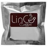 LinCo Coffee 2.25 oz. Metro Dark Roast Blend Filter Pouch Coffee (Case of 60) L157137