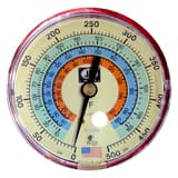 JB Industries 500 psi Glow-in-the Dark Pressure Gauge JM2856