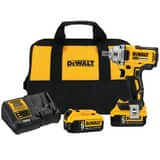 DEWALT 1/2 in. Mid-Range Cordless Impact Wrench with Detent Pin Anvil Kit DDCF894P2