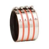4000 Series 4 in. No-Hub Heavy Duty Stainless Steel Coupling DNHHCP