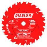 Diablo Tools 6-1/2 in. Tico™ Hi-Density Carbide Circular Saw Blade DD0624X