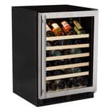 Marvel Industries 23-7/8 in. 15A 6.4 cf Undercounter Right Hinge Wine Cooler in Stainless Steel MML24WSG0RS
