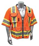 Radians Radwear™ 300D and Polyester Safety Vest in Orange RSV553ZOD at Pollardwater