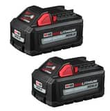 Milwaukee M18™ RedLithium™ High Output™ Lithium-Ion XC6.0 Battery (Pack of 2) M48111862