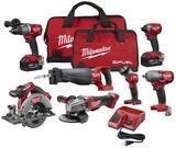 Milwaukee® M18 Fuel™ Cordless 18V Circular Saw 7 Tool Kit M299727 at Pollardwater