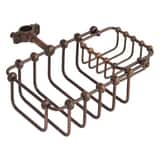 Signature Hardware Soap Basket in Oil Rubbed Bronze SH423765